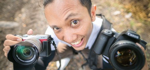 Peralatan foto prewedding dan foto wedding lukihermanto