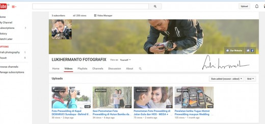 youtube fotografer pernikahan surabaya